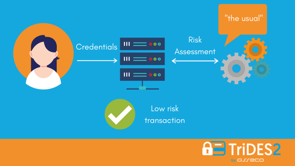 risk based authentication low risk 3dsecure by TriDES2